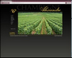 creation du site internet champagne alexandre